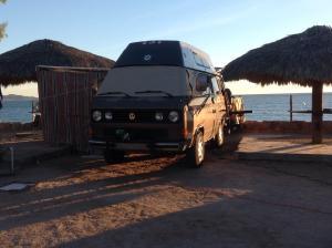 Alta on the beach in Bahia Kino