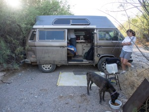 Camping near Lake Pleasant Arizona