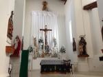Interior of Arizpe church.  Former capital of Sonora, Mexico.