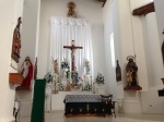 Interior of Arizpe church.  Former capital of Sonora, Mexico.