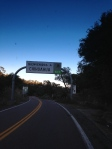 Entering a new state.  New time zone.  Slightly different signage.  AND finally, guardrail every now and then!