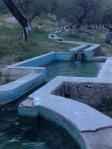 Hot pools.