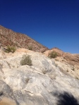 Bouldering hike with Mike.  See him in the middle?