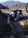 helping a motorist