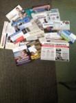 A pathetic pile of political propaganda in our PO box.