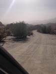windstorm across the desert
