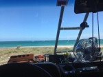 cabo pulmo windshield view