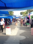la paz street market