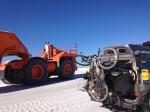 large orange machine