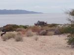 overlooking campsite