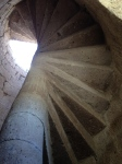 The caracol stairs.