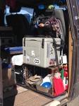 traveling box set up