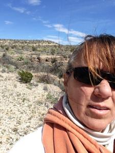7 hiking selfie