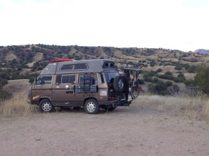 camped near sonoita AZ