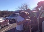 saying goodbye to Jessica