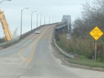 200 ft tall bridge leaving texas