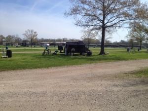 camped at BREC