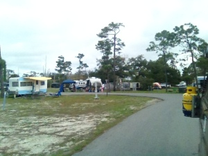 The most crowded campground we have stayed in so far.