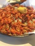 first crawfish dinner