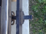 hitch mounted bumper with hitch
