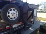 items on rear bumper