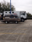 nasa parking lot