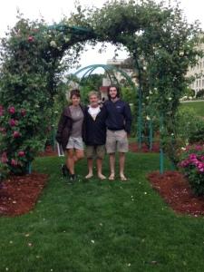rose garden pose