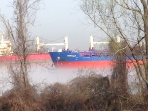 ship on the mississip