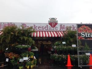 strawberry market-delicious