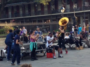 street music NOLA