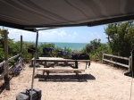We scored a great campsite at Bahia Honda State Park in the Keys.