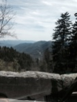 smoky mountains view