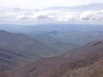 view from blue ridge parkway