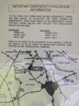 evacuation plan near three mile island