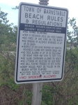 hyannis beach rules 1