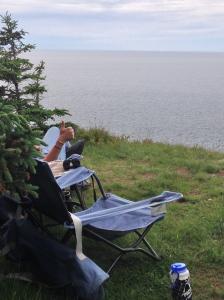 cliffsisde camping