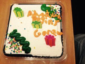 special birthday cake.