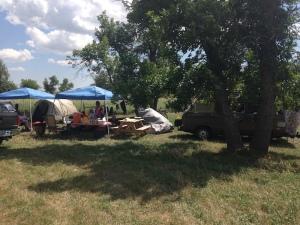 camp at sturgis