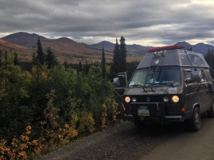 dempster highway soft shoulder