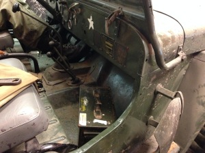 Geocache in jeep2