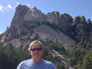 mike at rushmore