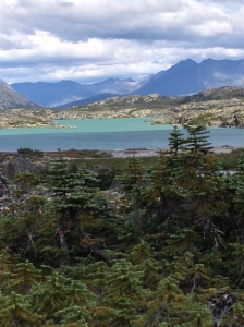 Moon lake near Skagway