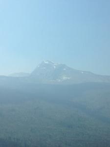 MOUNTAIN IN GLACIER