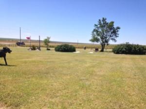 Prairie cemetary Seri