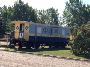 shower house train car
