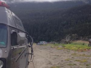 using treds to rescue minivan