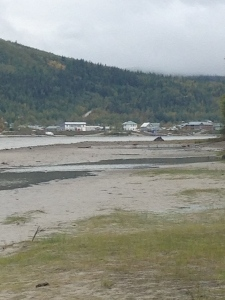 Dawson City up Yukon River