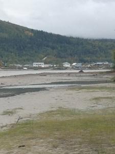 Dawson City up Yukon River