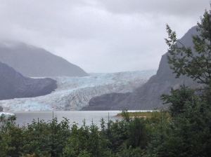 Mendenhall Glacier a hasty retreat