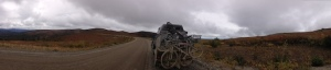 mud highway panorama